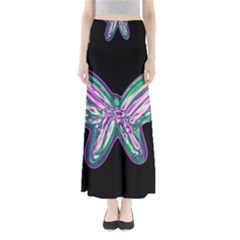 Neon Butterfly Maxi Skirts