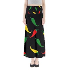 Chili Peppers Maxi Skirts
