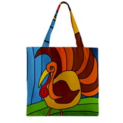 Thanksgiving turkey  Zipper Grocery Tote Bag