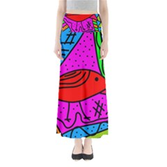 Red Bird Maxi Skirts