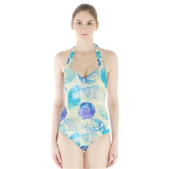 Seashells Halter Swimsuit