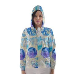 Seashells Hooded Wind Breaker (women)