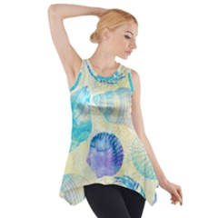 Seashells Side Drop Tank Tunic