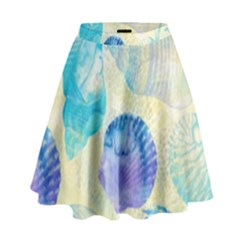 Seashells High Waist Skirt
