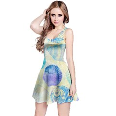 Seashells Reversible Sleeveless Dress