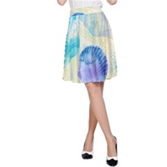 Seashells A-Line Skirt