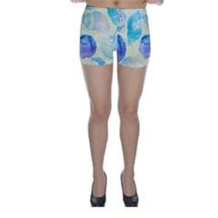 Seashells Skinny Shorts