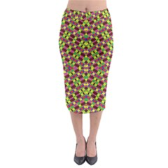 Star Ship Creation Midi Pencil Skirt
