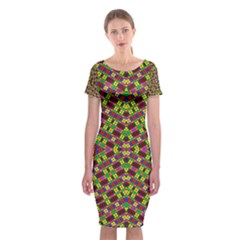Tishrei King Four I Classic Short Sleeve Midi Dress