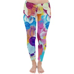 Anemones Winter Leggings