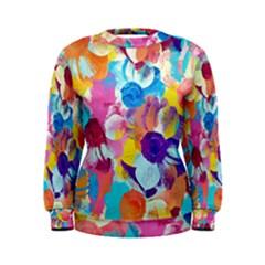 Anemones Women s Sweatshirt