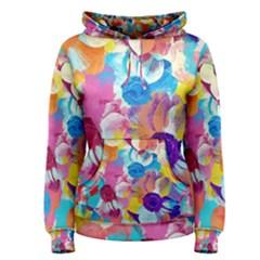 Anemones Women s Pullover Hoodie