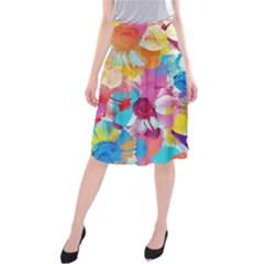 Anemones Midi Beach Skirt