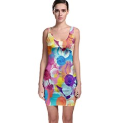 Anemones Bodycon Dress