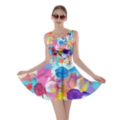 Anemones Skater Dress
