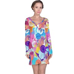 Anemones Long Sleeve Nightdress