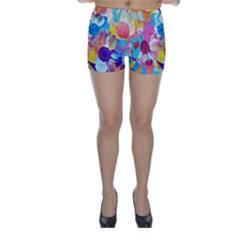 Anemones Skinny Shorts