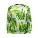 Fern Leaves Women s Sweatshirt View1