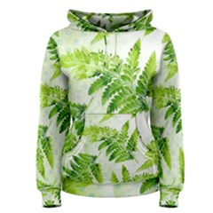 Fern Leaves Women s Pullover Hoodie