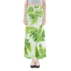 Fern Leaves Women s Maxi Skirt