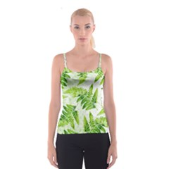 Fern Leaves Spaghetti Strap Top