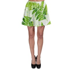Fern Leaves Skater Skirt
