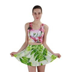 Fern Leaves Mini Skirt