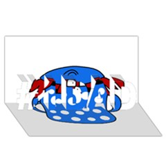 Cooking Lobster #1 Dad 3d Greeting Card (8x4)