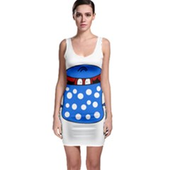 Cooking lobster Sleeveless Bodycon Dress
