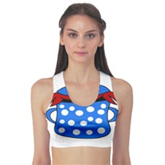Cooking lobster Sports Bra