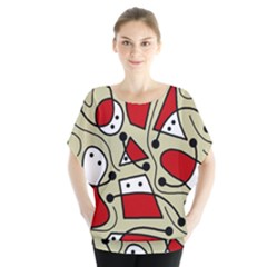 Playful abstraction Blouse