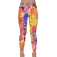 Pop Art Roses Yoga Leggings