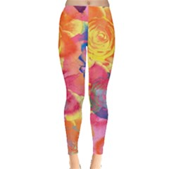 Pop Art Roses Leggings