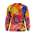 Pop Art Roses Women s Sweatshirt View2