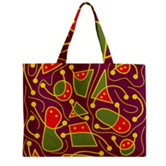 Playful decorative abstract art Mini Tote Bag