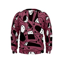 Playful abstraction Kids  Sweatshirt