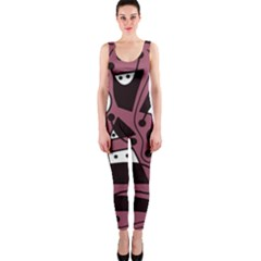 Playful abstraction OnePiece Catsuit