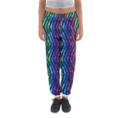 Colorful Lines Women s Jogger Sweatpants