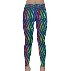 Colorful Lines Yoga Leggings
