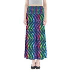 Colorful Lines Women s Maxi Skirt