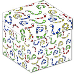 Colorful worms  Storage Stool 12