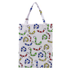 Colorful worms  Classic Tote Bag