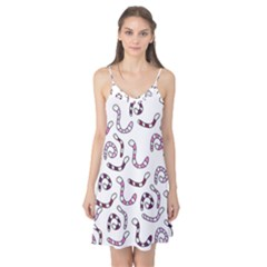 Purple worms Camis Nightgown