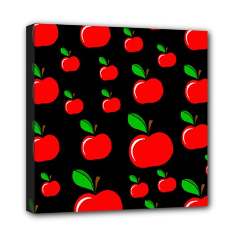 Red apples  Mini Canvas 8  x 8