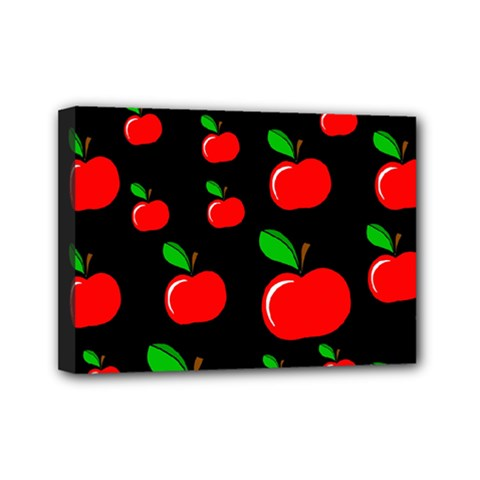Red apples  Mini Canvas 7  x 5