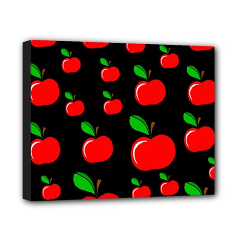 Red apples  Canvas 10  x 8