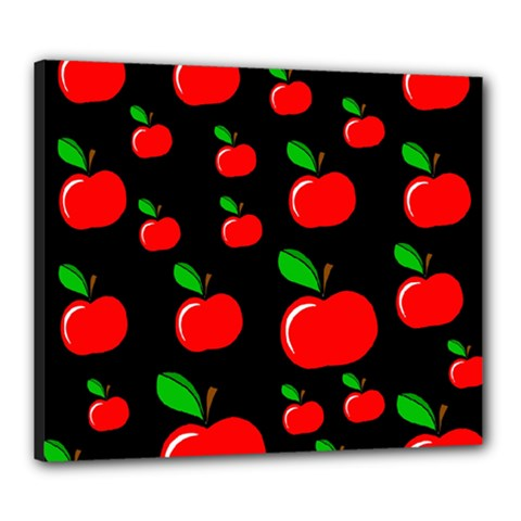 Red apples  Canvas 24  x 20