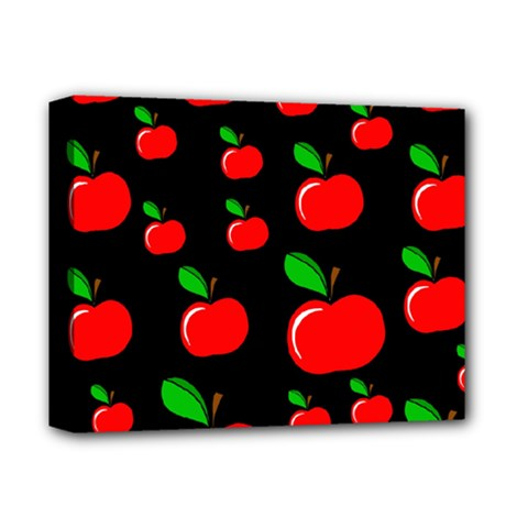Red apples  Deluxe Canvas 14  x 11