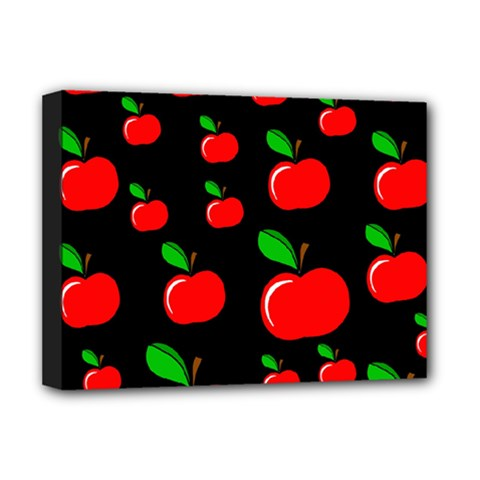 Red apples  Deluxe Canvas 16  x 12