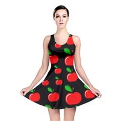 Red apples  Reversible Skater Dress